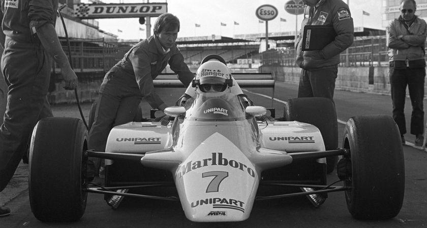 Tommy Byrne F1 McLaren N