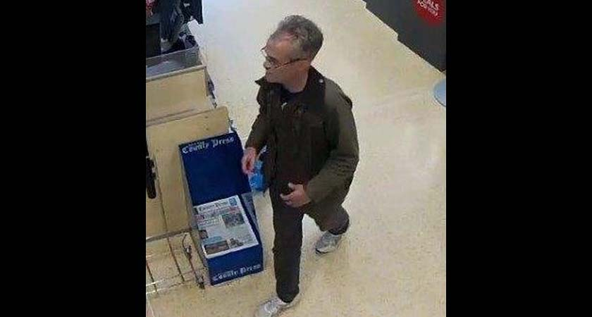 Robert Gibson was last seen in the Co-Operative supermarket in the Isle of Wight. Picture: Metropolitan Police