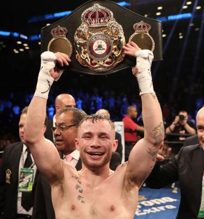 New WBA featherweight champion Carl Frampton [©INPHO/Presseye/William Cherry]