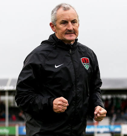 Cork City boss John Caulfield [©INPHO/Tommy Dickson]