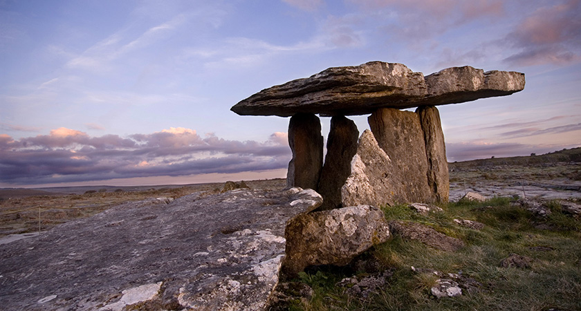 The Burren, Co. Clare. Picture: Photocall Ireland