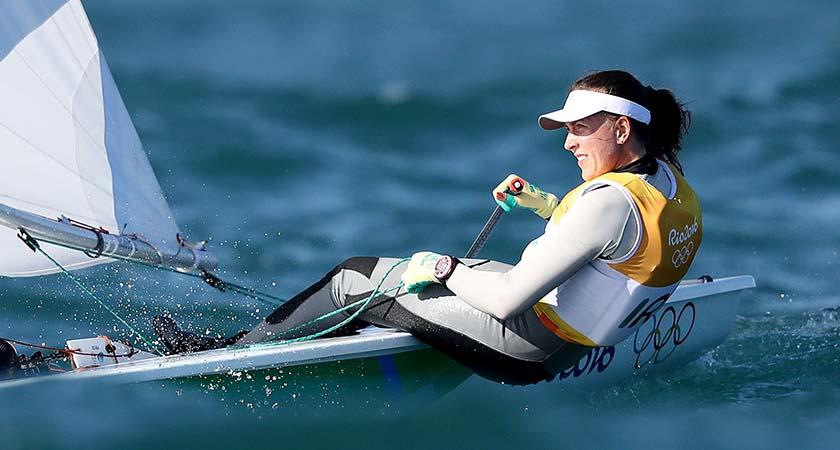 Ireland's Annalise Murphy racing in Rio 2016. (Source: ©INPHO/Dan Sheridan)