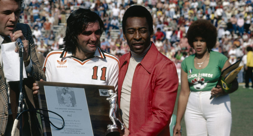 Legends like George Best and Pele spent the twilight years of their careers in the USA [Picture: Getty]