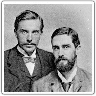 Casement with Hubert Ward, whom he met in the Congo. (Source: Wikipedia)