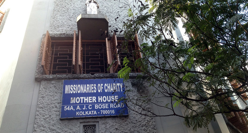Missionaries of Charity HQ, Calcutta [Via: Getty]