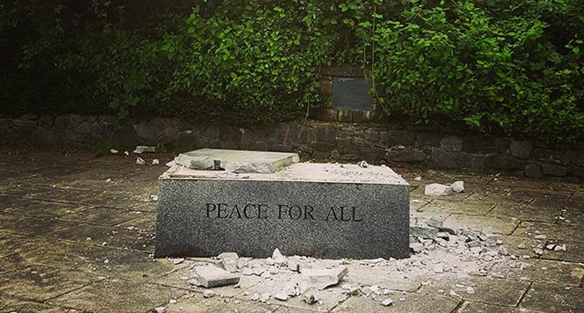 Peace destroyed N