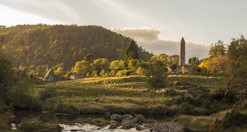 Glendalough is a sight to behold