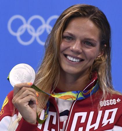 Russian Yulia Efimova [Picture: Getty]