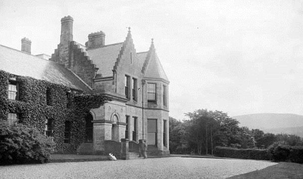 Magherintemple House, where Roger Casement spent his teenage years (Source: lordbelmontinnorthernireland.blogspot)