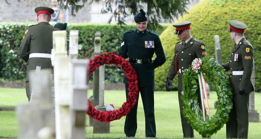 The commemorations on May 26 [Picture: Sam Boal/RollingNews.ie]