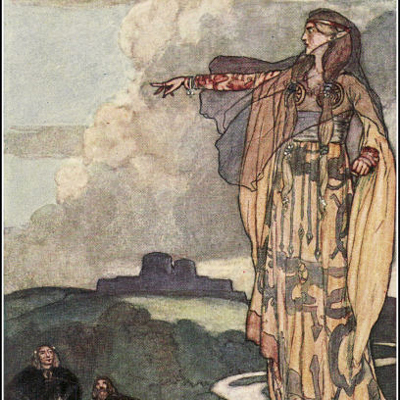 Armagh takes its name from Macha, a giant Irish Goddess [Via: Wikipedia Commons]
