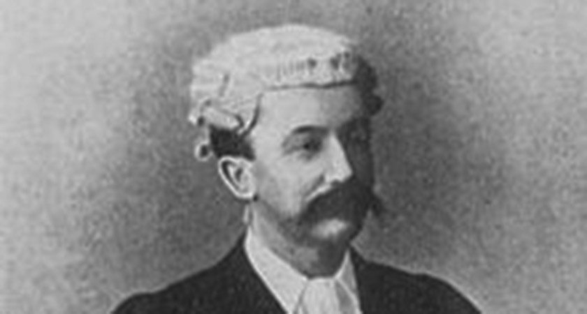 Lawyer and songwriter Frederic Weatherly [Via: Wikipedia Commons]
