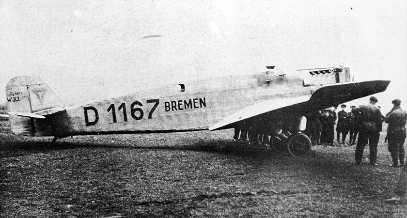 The famous Bremen plane (Pic: Keystone/Getty)