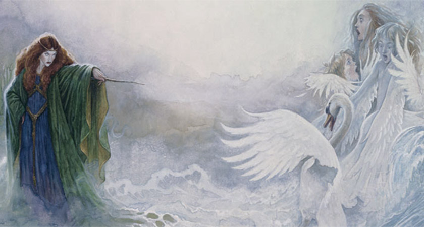 Aoife and the Children of Lir [Via: Ireland of the Welcomes]