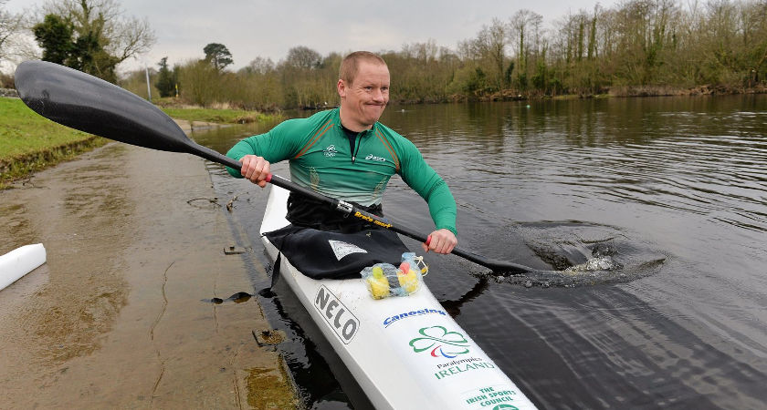 Pat O'Leary [Picture: Paralympics Ireland]