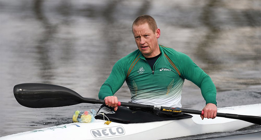 Patrick O'Leary in action [Picture: Paralympics Ireland]