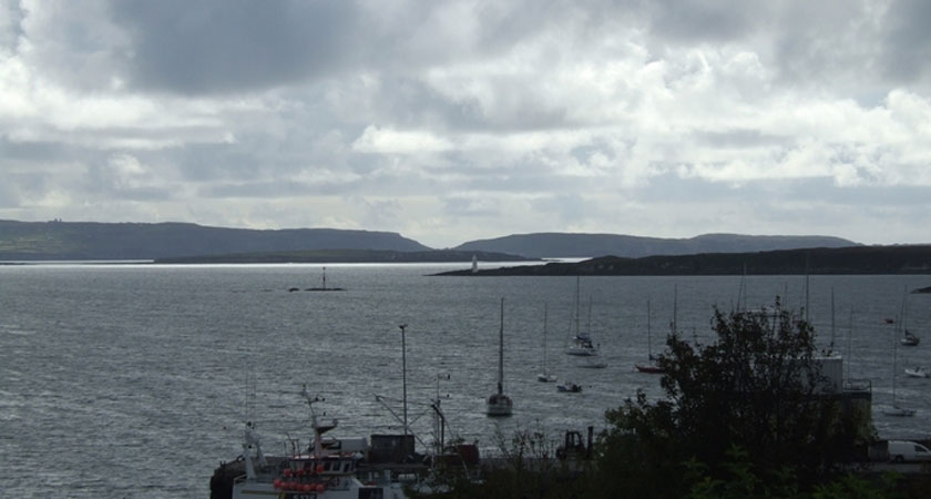 The island is located just off the coast of Cork, south of Schull