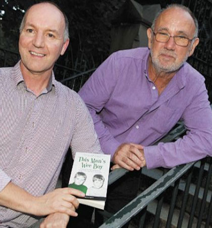 Tony Doherty with screenwriter Jimmy McGovern
