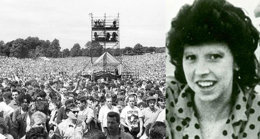 Antoinette Smith had been to see David Bowie at Slane the night she was murdered [Images: RollingNews.ie / An Garda Síochána]