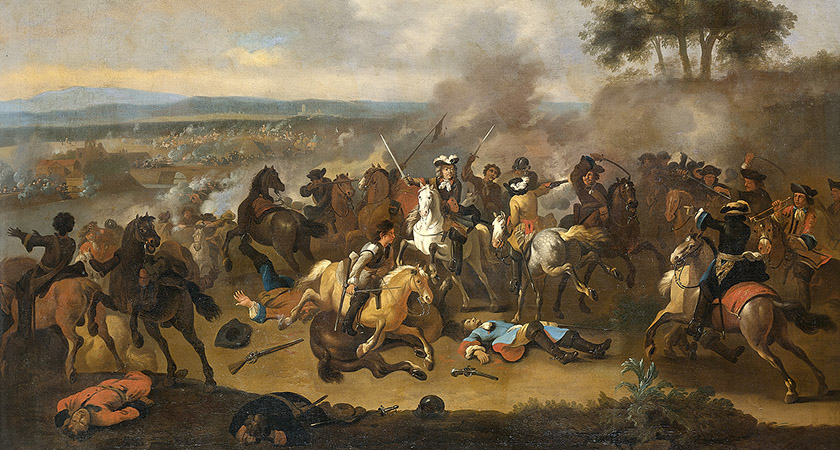 The Battle of the Boyne [Picture: Wikipedia Commons]