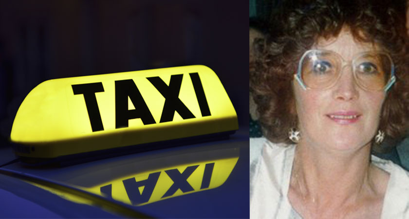 Taxi driver Eileen Costello-O'Shaughnessy was killed after picking up a final fare in Galway [Images: iStock / RTÉ]
