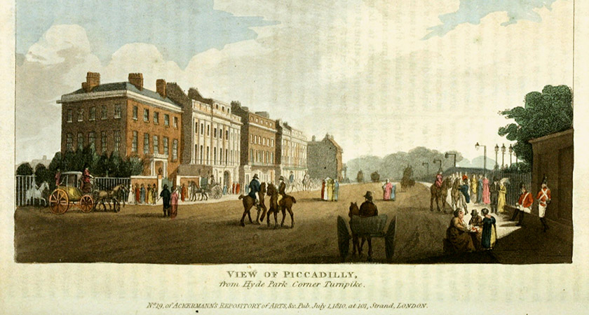 The Hyde Park area was far more rural in the mid-18th century [Source: Wikipedia Commons]