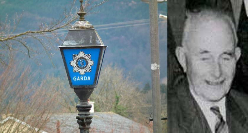 James Mulqueen was 92 when he was murdered [Images: iStock / An Garda Síochána]