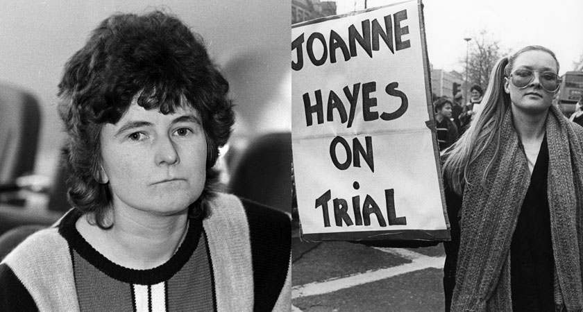 Joanne Hayes, left, was at the centre of the high-profile Kerry Babies inquiry [Images: RollingNews.ie]