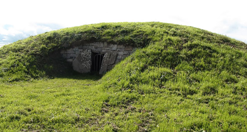 The Neolithic 'Mound of Hostages' in Co. Meath has long been associated with Samhain [Picture: Geography.ie]