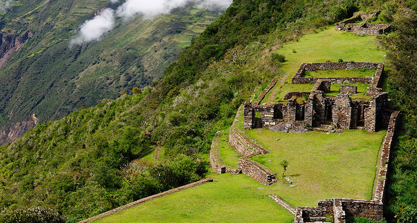 The lost ruins of Choquequirao [Picture: iStock]