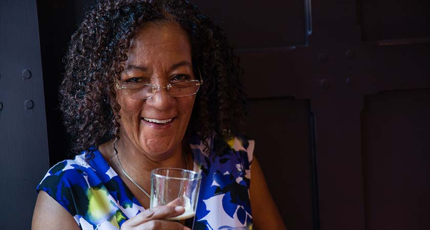 Rosemary Adaser is founder of the Association of Mixed Race Irish. (Picture: Tracy Anderson)
