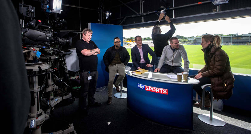 Sky Sports' GAA coverage is actually very good, but it's the games people want to see at the end of the day [©INPHO/James Crombie]