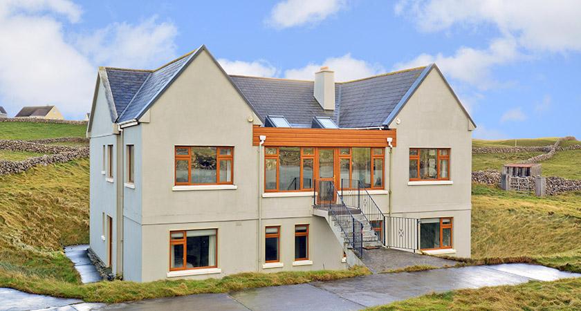 The house on Inis Mór