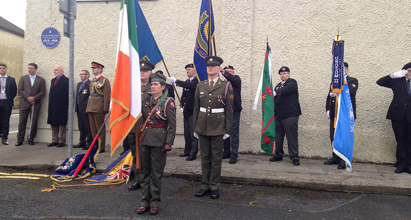 A commemorative plaque to the brothers was inaugurated in Waterford