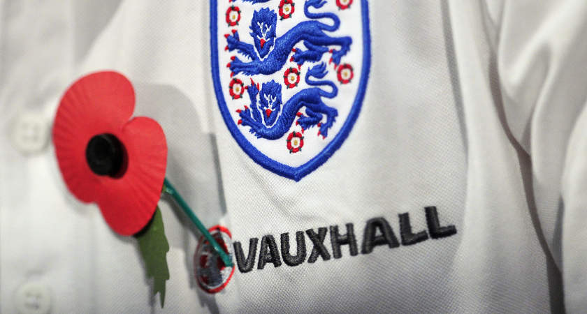 England and Scotland want to wear a poppy on their shirts when they play each other next week [Picture: Getty]