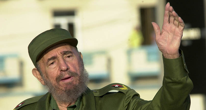 Former President of Cuba Fidel Castro died on Friday night. (Picture: Jorge Rey/Getty Images)