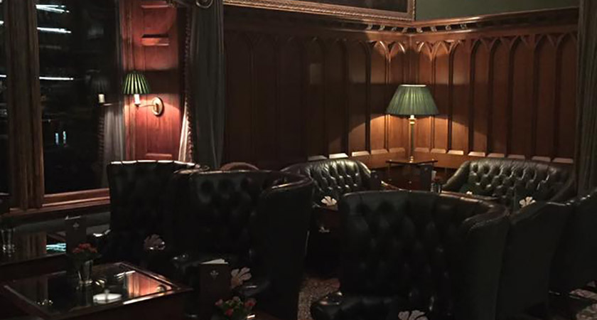 The Prince of Wales Bar at Ashford Castle [Picture: Facebook]