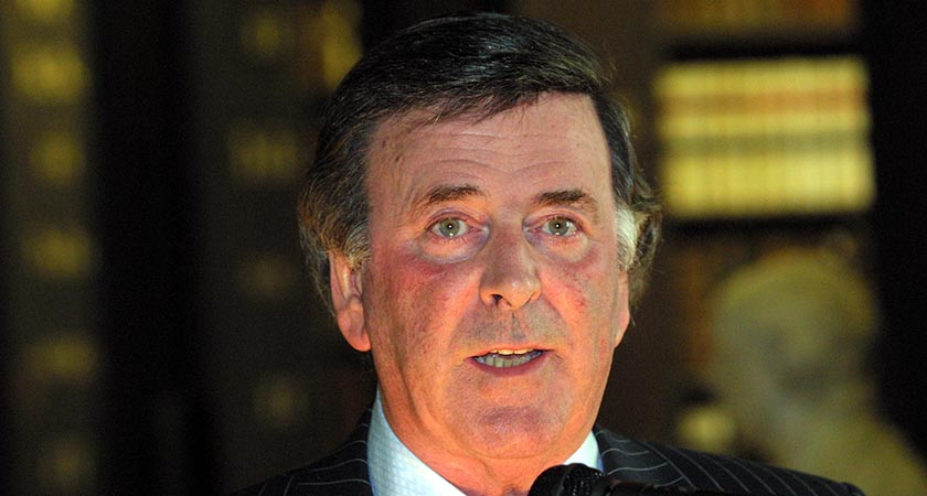 Sir Terry Wogan — broadcaster, charity worker and Eurovision guru (Picture: RollingNews.ie / Photocall Ireland)