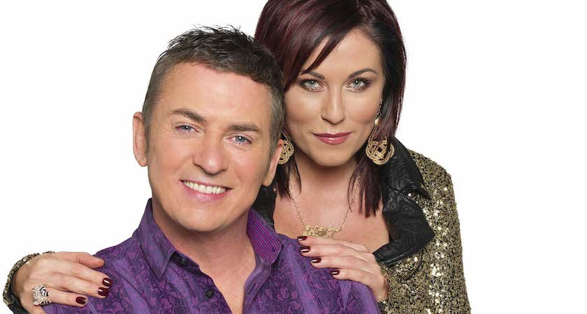 Programme Name: EastEnders - TX: n/a - Episode: Generics (No. n/a) - Picture Shows: Kat (JESSIE WALLACE), Alfie Moon (SHANE RICHIE) - (C) BBC - Photographer: Ray Burmiston