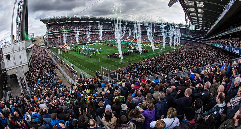The GAA 1916 commemorations at Croke Park [Picture: INPHO/Cathal Noonan]