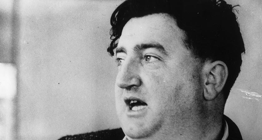 Brendan Behan — wrote The Quare Fellow [Picture: Getty Images]