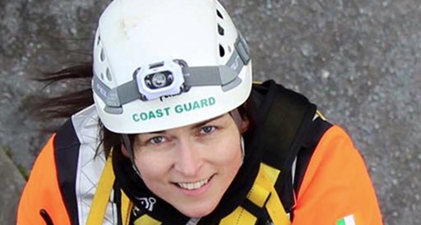 Catríona Lucas, member of the Irish Coast Guard Service (Picture: Photocall Ireland)