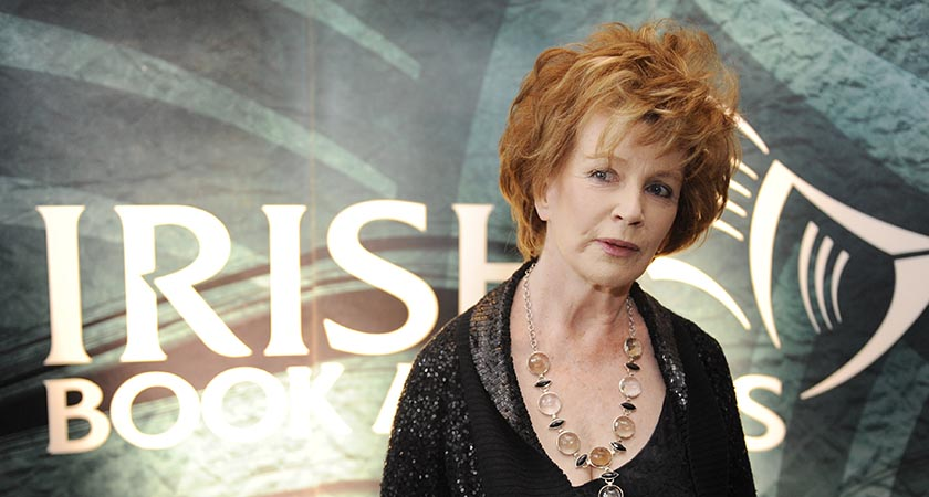 Edna O'Brien did a lot of bold writing [Picture: Rolling News / Photocall Ireland]
