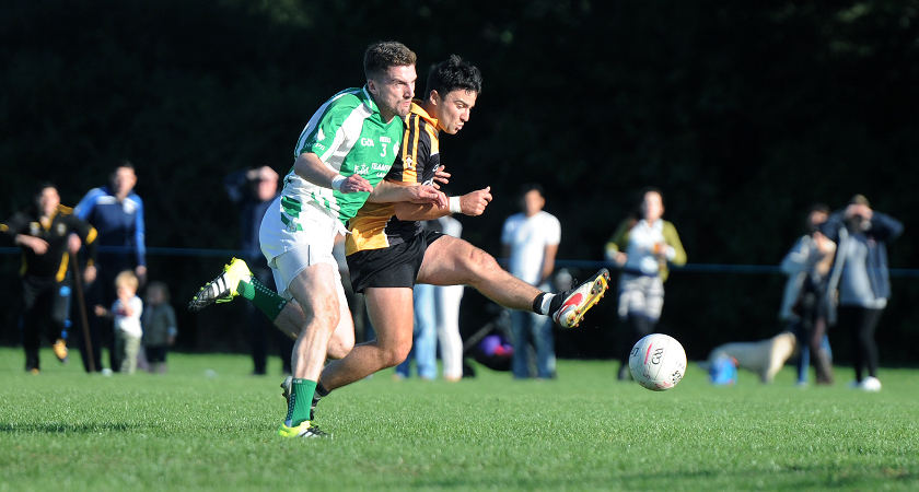 Harlesden Harps (green) are dedicated to grassroots GAA [Picture: Mal McNally]