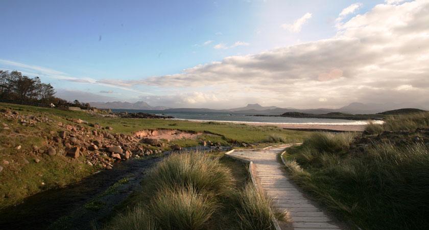 Enjoy the stunning scenery along Scotland's North Coast 500