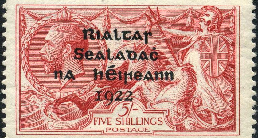 An Irish stamp from the 1920s [Picture: Public Domain]
