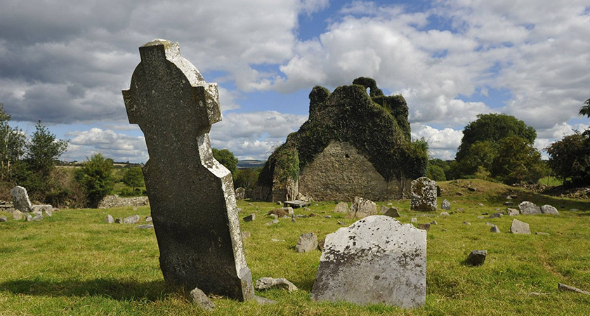The tomb lies within the grounds of the abandoned Jerpoint Abbey [Picture: Visit Jerpoint Park]
