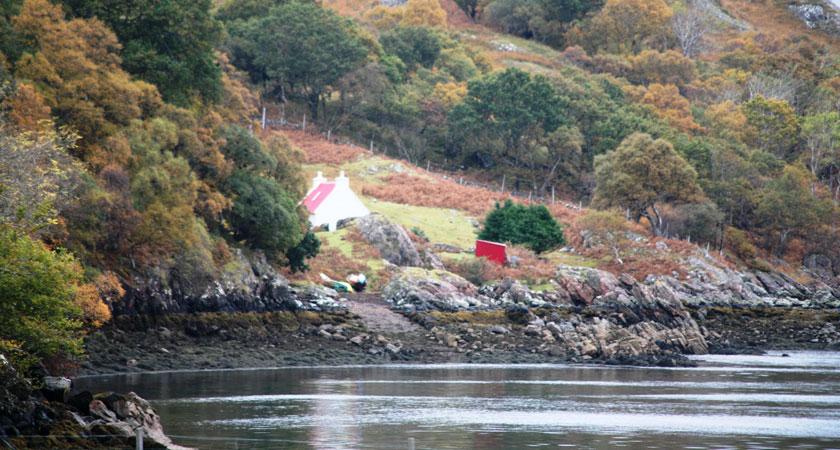 Enjoy beautiful views over Scotland's lochs