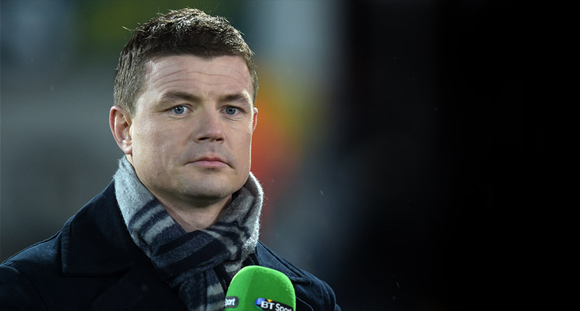 O'Driscoll has been a pundit with BT Sport since 2014. Photo: Chalres McQuillan/Getty