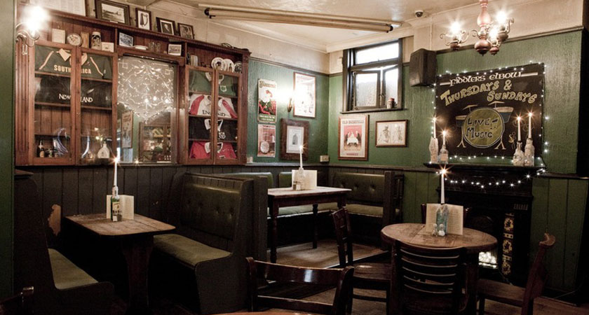 Get your hats on and head for the Fiddler's Elbow